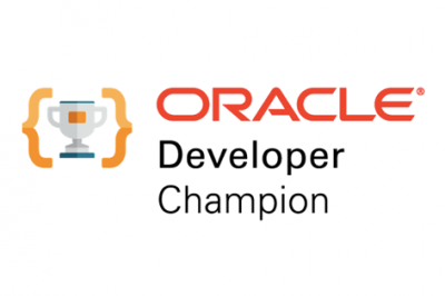 Oracle Developer Champion