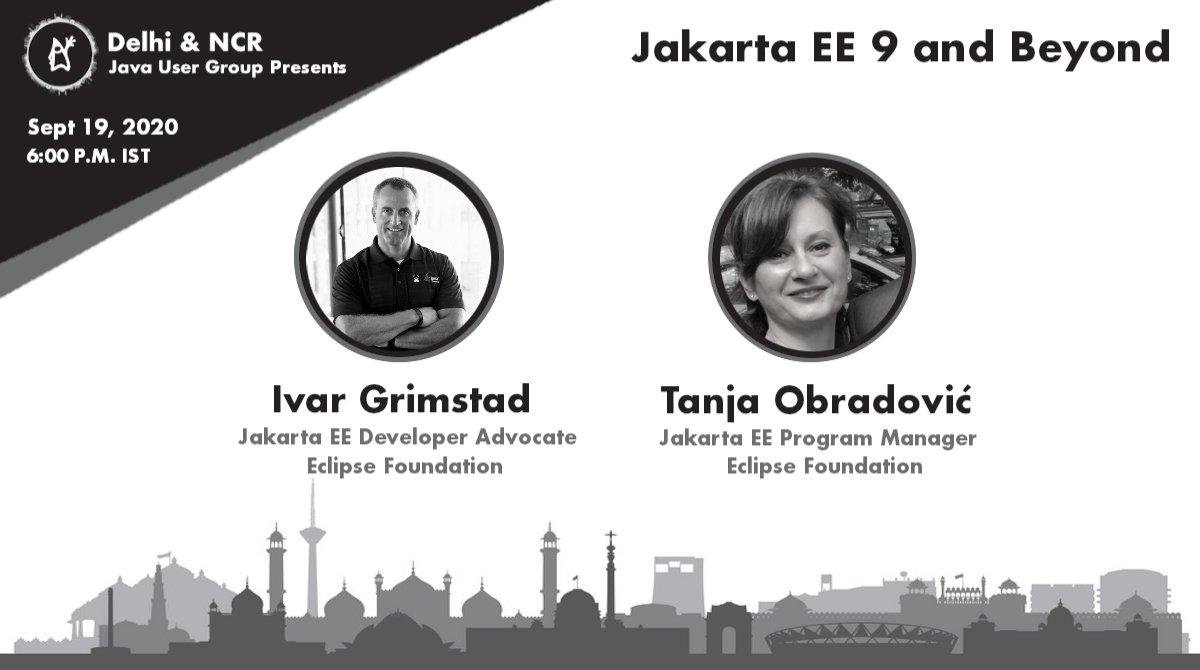Jakarta EE Virtual Tour - Delhi JUG
